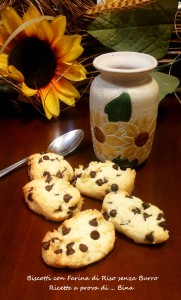 Biscotti con Farina di Riso senza Burro - Ricette a prova di ... Bina