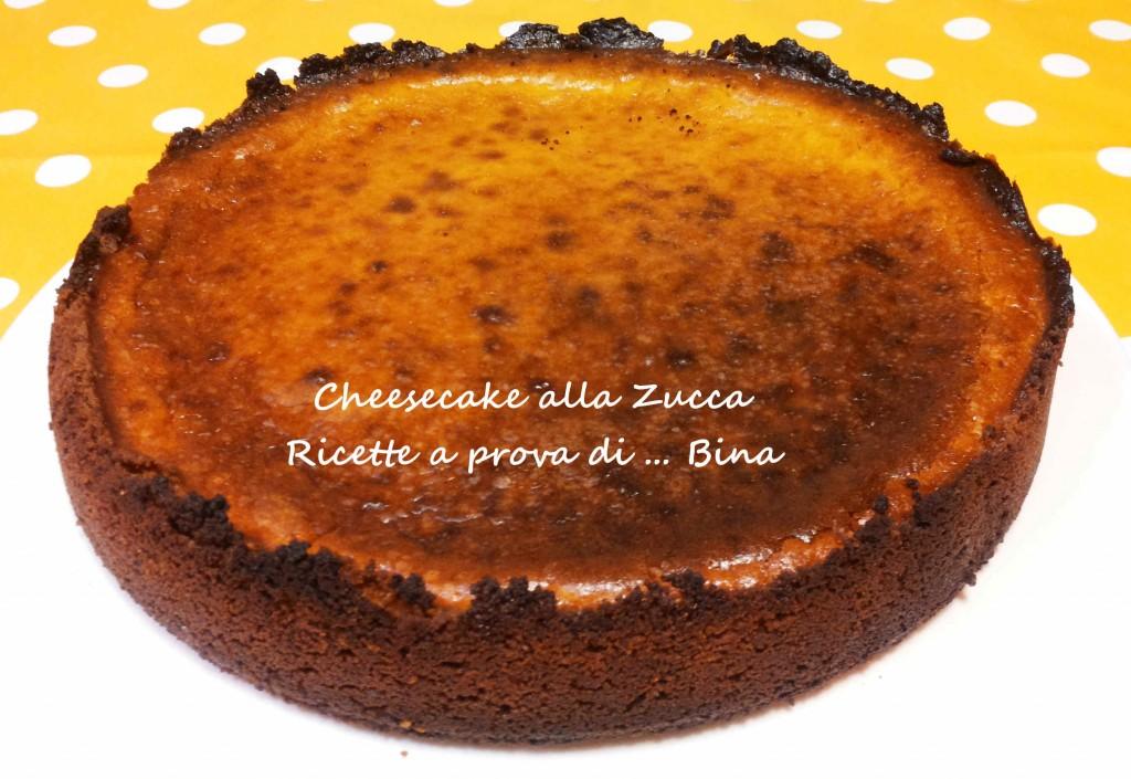 Cheesecake alla zucca ricetta dolce