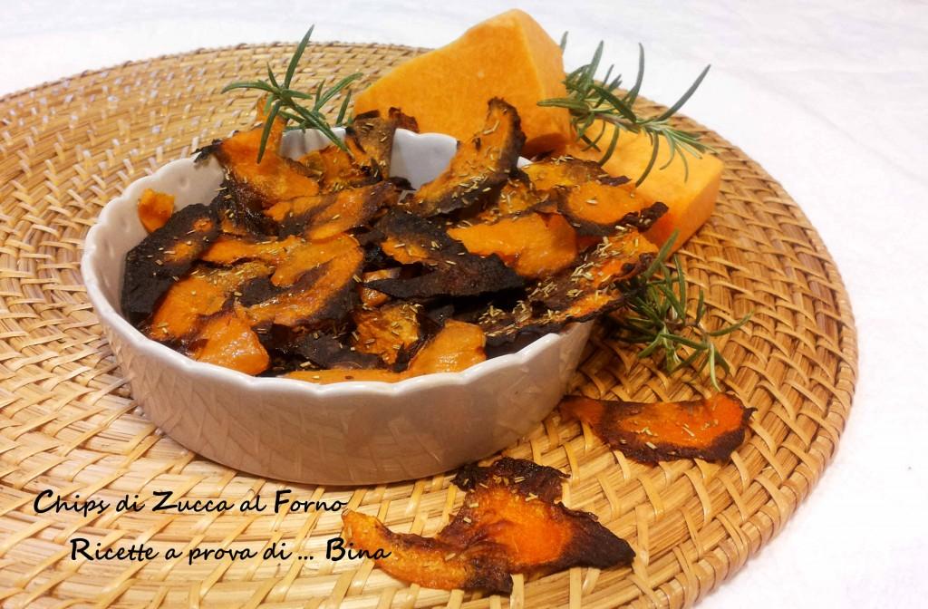 Chips di Zucca al Forno - Ricette a prova di ... Bina
