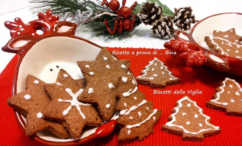 Biscotti della Vigilia - ricetta dolce semplice
