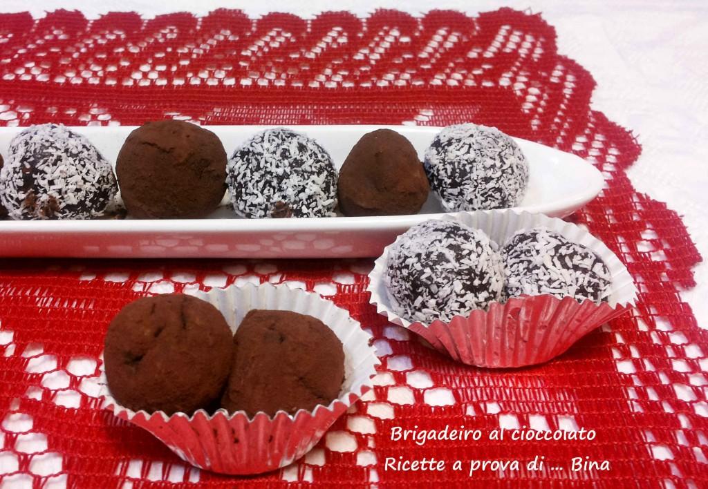 Brigadeiro al cioccolato ricetta dolce veloce