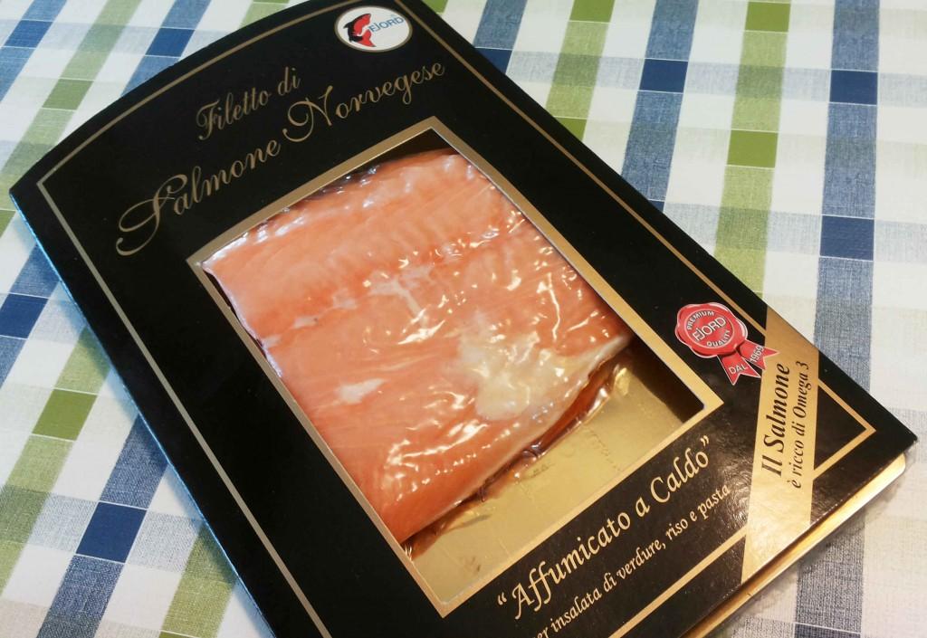 trancio di salmone FJord affumicato a caldo