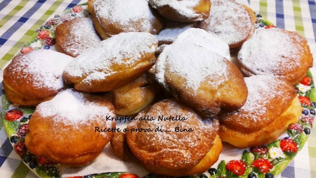 Krapfen alla nutella ricetta dolce