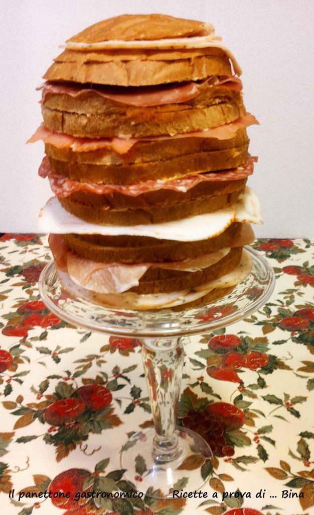 Panettone gastronomico - ricette a prova di bina