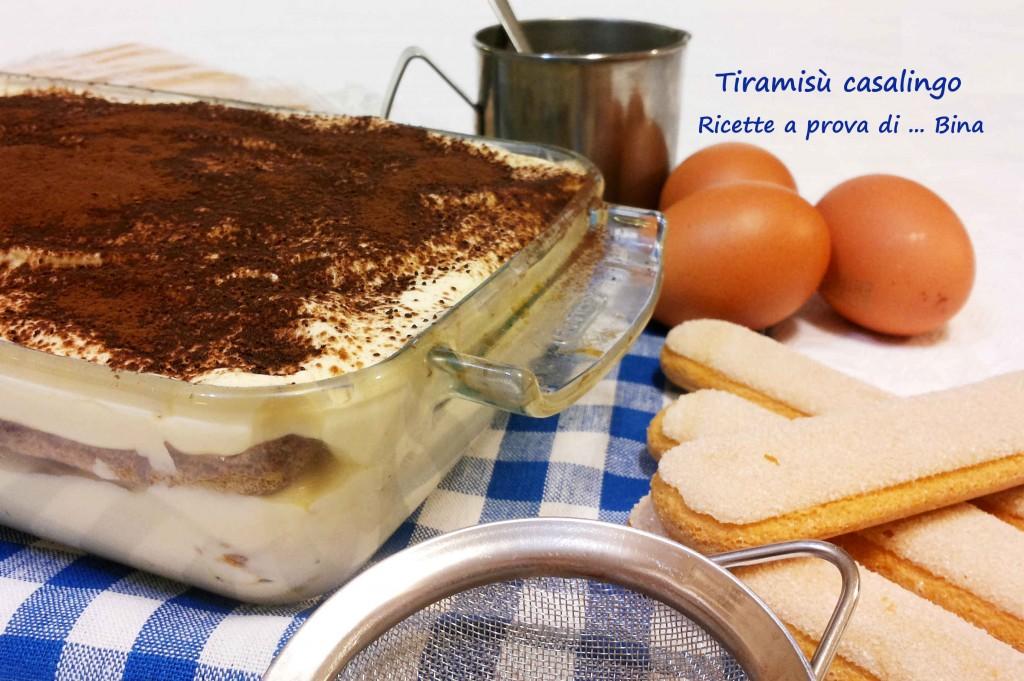 Tiramisù casalingo - ricetta semplice