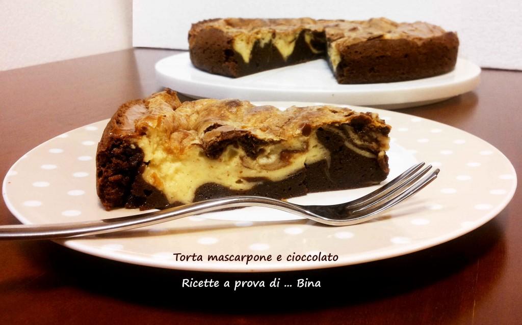 Torta mascarpone e cioccolato - ricette a prova di ... Bina