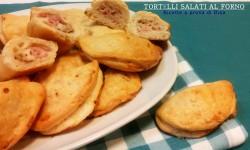 Tortelli salati al forno