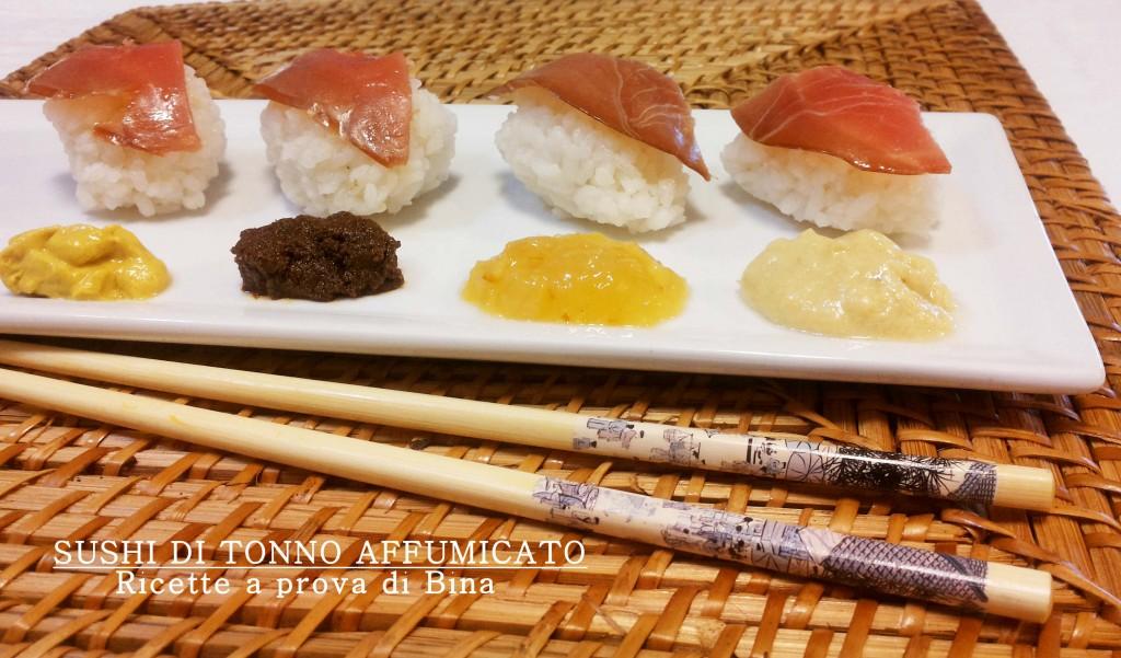 Sushi di tonno affumicato - ricette a prova di Bina