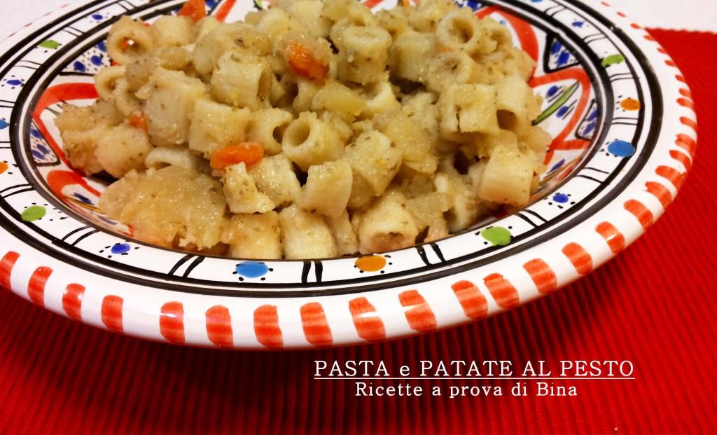 Pasta e patate al pesto - ricette a prova di Bina
