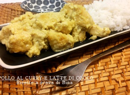 Pollo al curry e latte di cocco