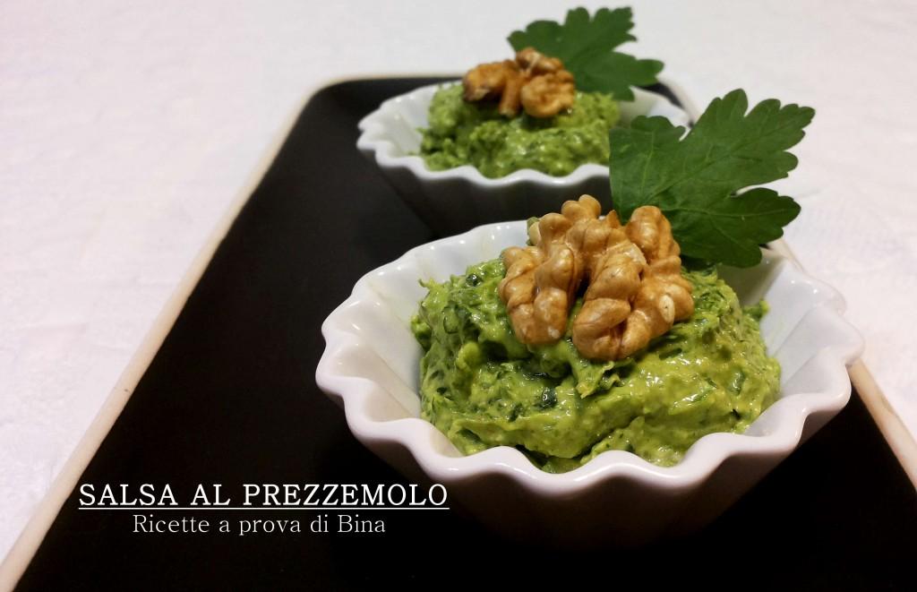 salsa al prezzemolo - ricette a prova di Bina