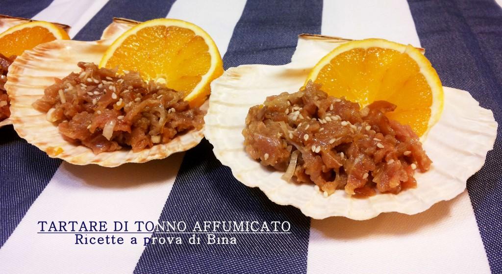 Tartare di tonno affumicato - ricette a prova di Bina