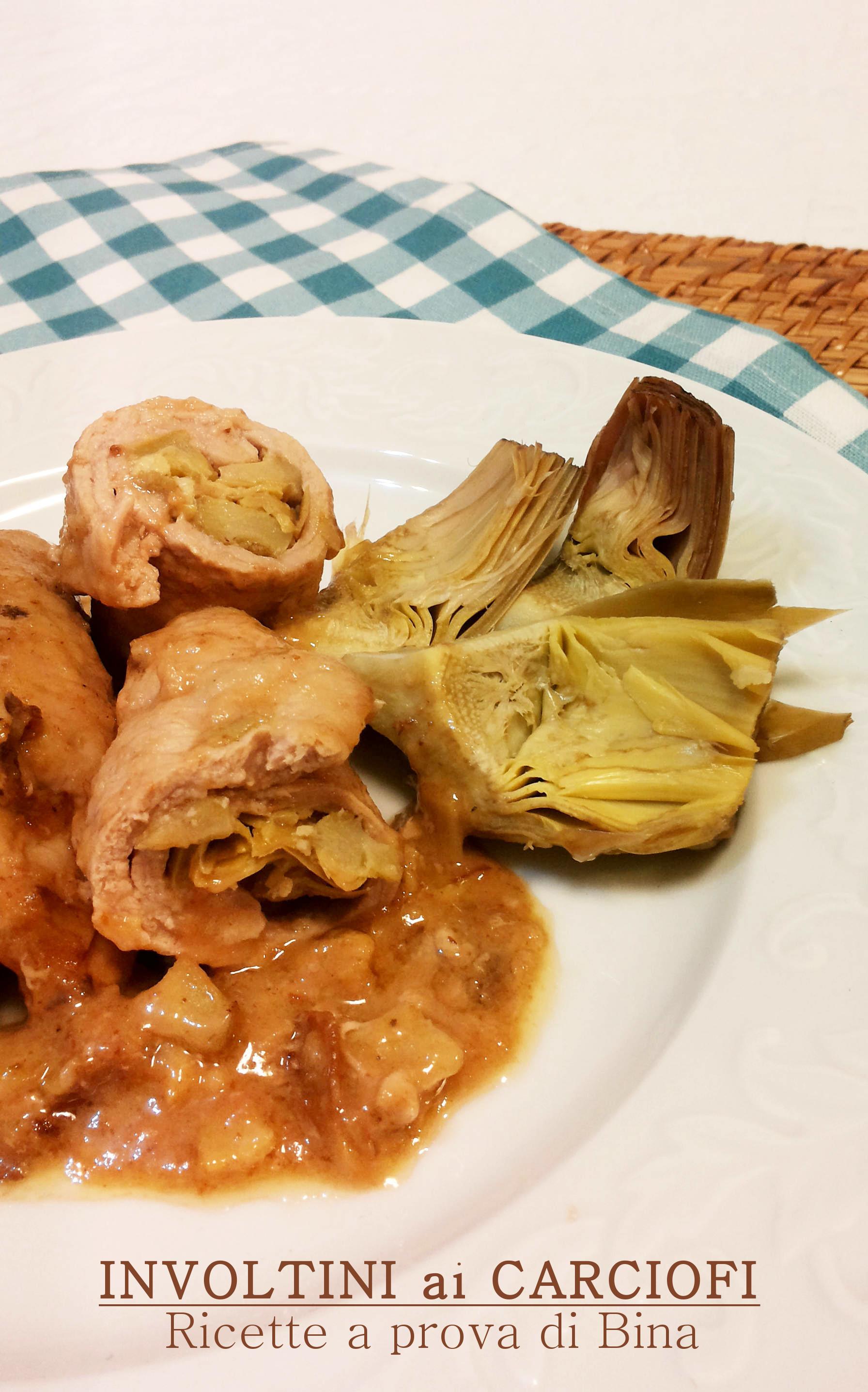 Involtini ai carciofi ricette a prova di bina for Ricette con carciofi