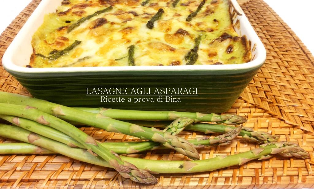 lasagne agli asparagi - ricette a prova di Bina