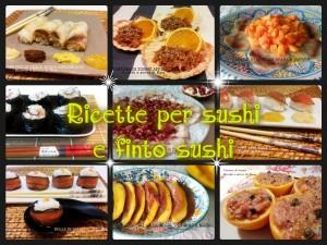 ricette per sushi e finto sushi - ricette a prova di Bina