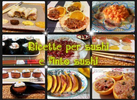 Ricette per sushi e finto sushi