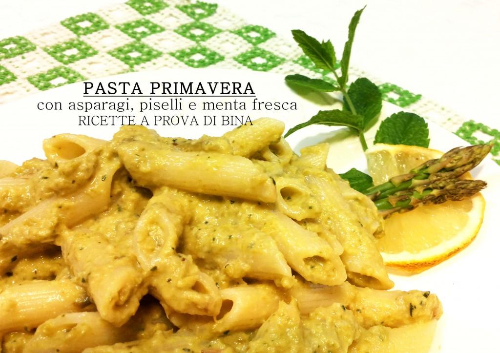 Pasta primavera - Ricette a prova di Bina