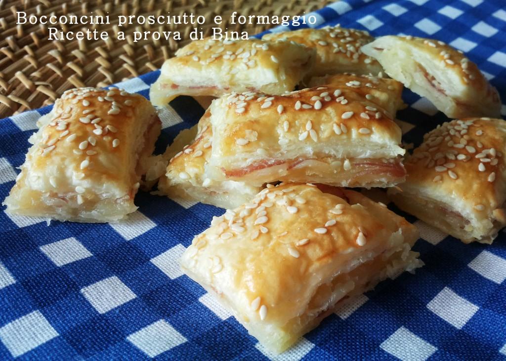 Bocconcini al prosciutto e formaggio - Ricette a prova di Bina
