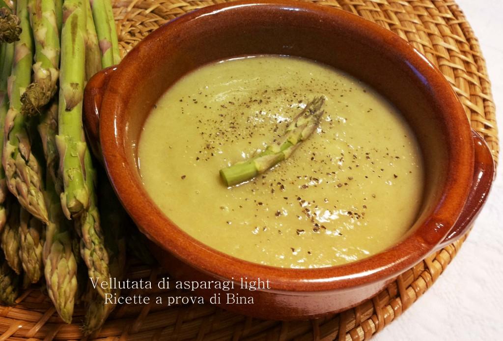 Vellutata di asparagi light    Ricette a prova di Bina