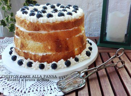 Chiffon cake alla panna