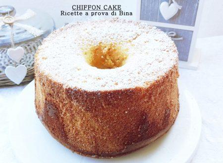 Chiffon cake ricetta dolce