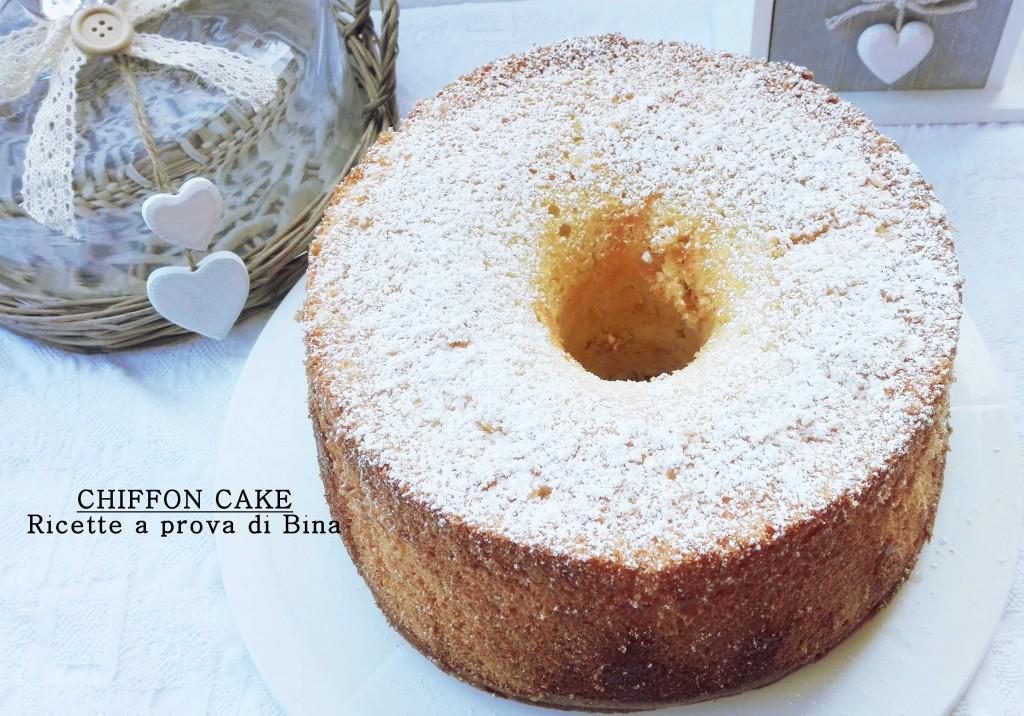 CHIFFON CAKE Ricette a prova di Bina
