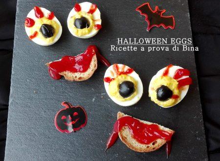 Halloween eggs – uova di halloween