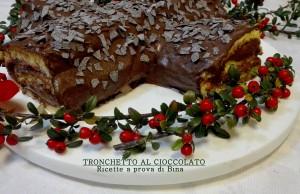 Tronchetto di natale al cioccolato - ricette a prova di bina