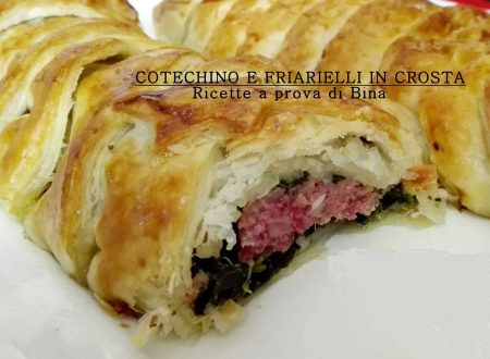 Cotechino e friarielli in crosta