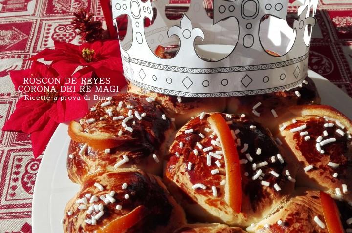 roscon de reyes - corona dei re magi - ricette a prova di Bina