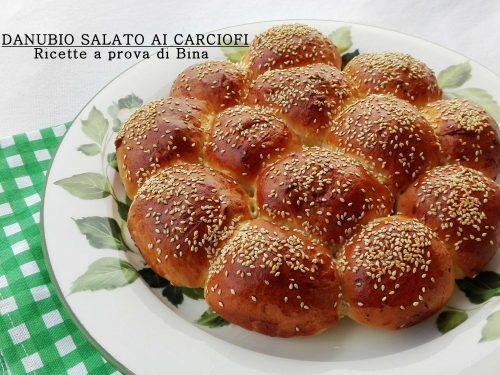 Danubio salato ai carciofi