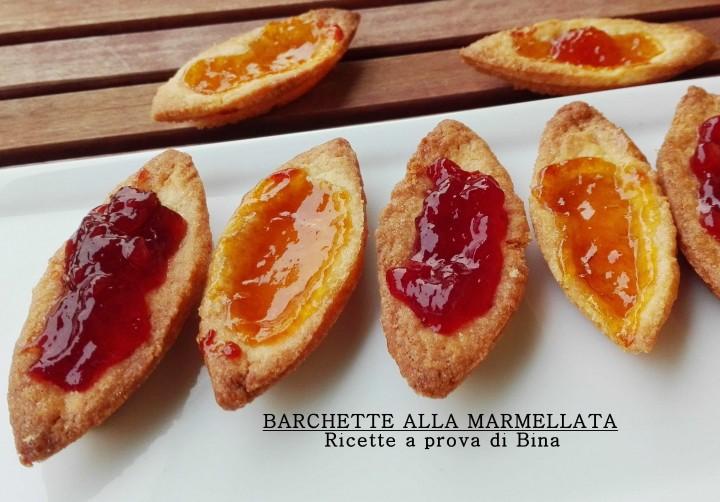 BARCHETTE ALLA MARMELLATA - Ricette a prova di Bina