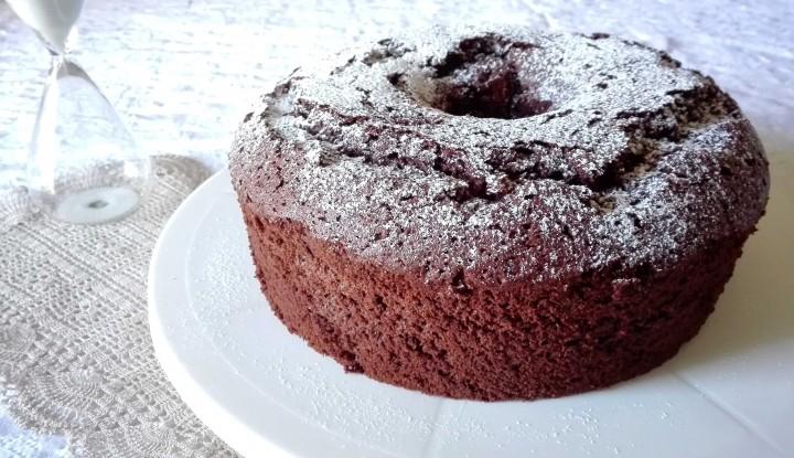 CHIFFON CAKE AL CIOCCOLATO - Ricette a prova di Bina