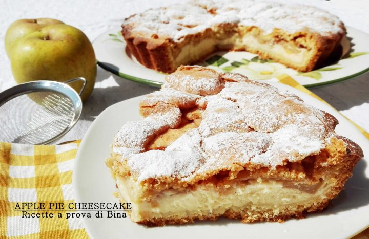 APPLE PIE CHEESECAKE - Ricette a prova di Bina