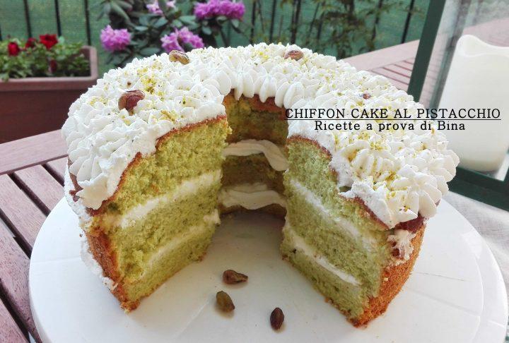 CHIFFON CAKE AL PISTACCHIO - Ricette a prova di Bina
