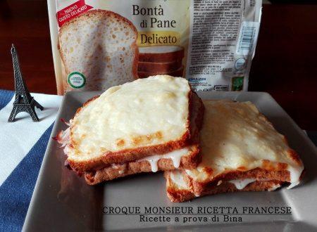 Croque monsieur ricetta francese