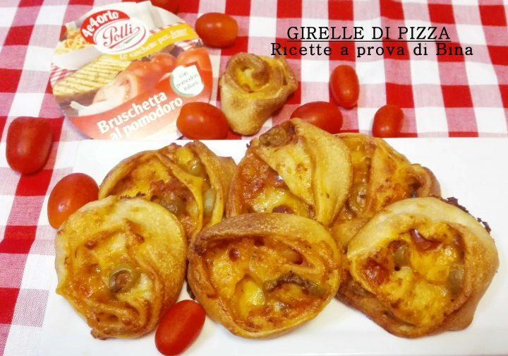 girelle di pizza al pomodoro e olive - ricette a prova di Bina