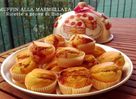Muffin alla marmellata ricetta semplice