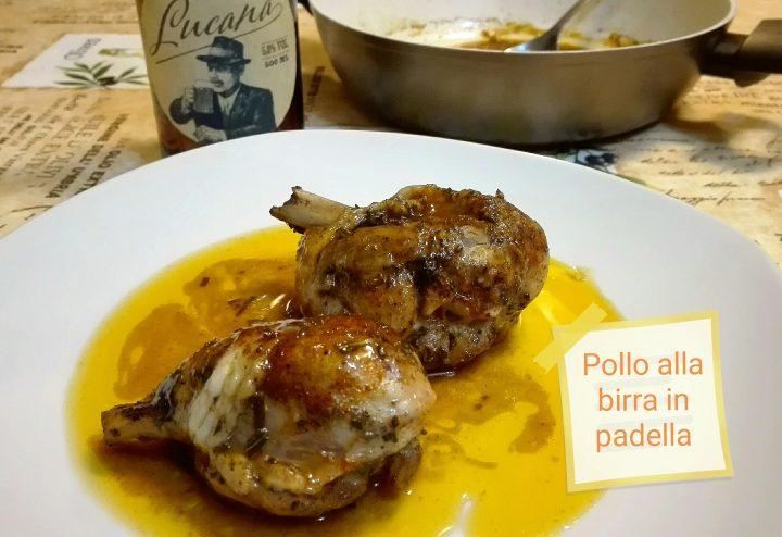 pollo alla birra in padella - ricette a prova di Bina