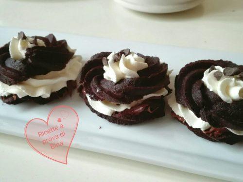 Zeppole al cioccolato