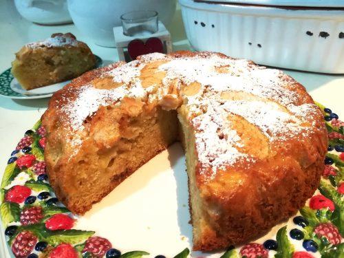 Torta di mele soffice ricetta senza burro