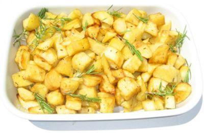 Contorno di patate al microonde