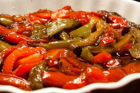 Peperoni al curry al microonde