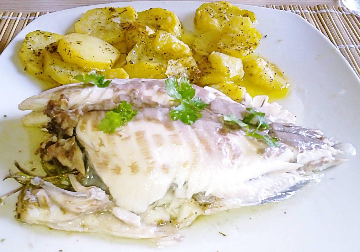 Orata con patate al microonde ricette al microonde for Microonde ricette