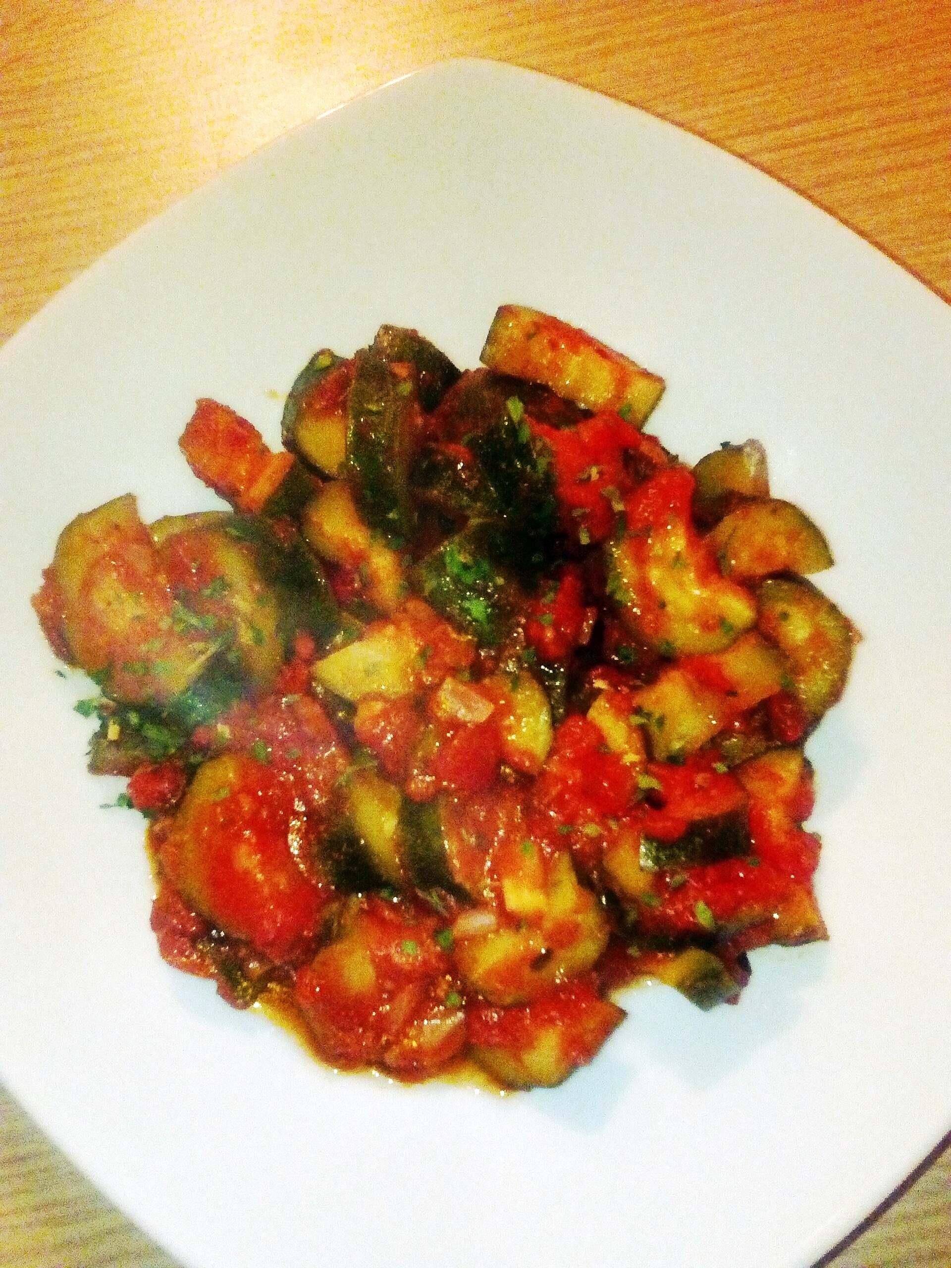 Zucchine al pomodoro al microonde ricette al microonde for Ricette microonde