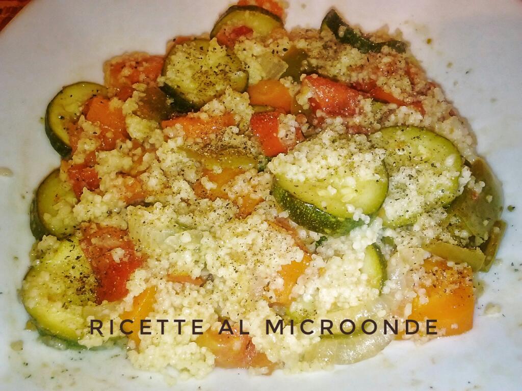 Cous cous di verdure al microonde ricette al microonde for Microonde ricette
