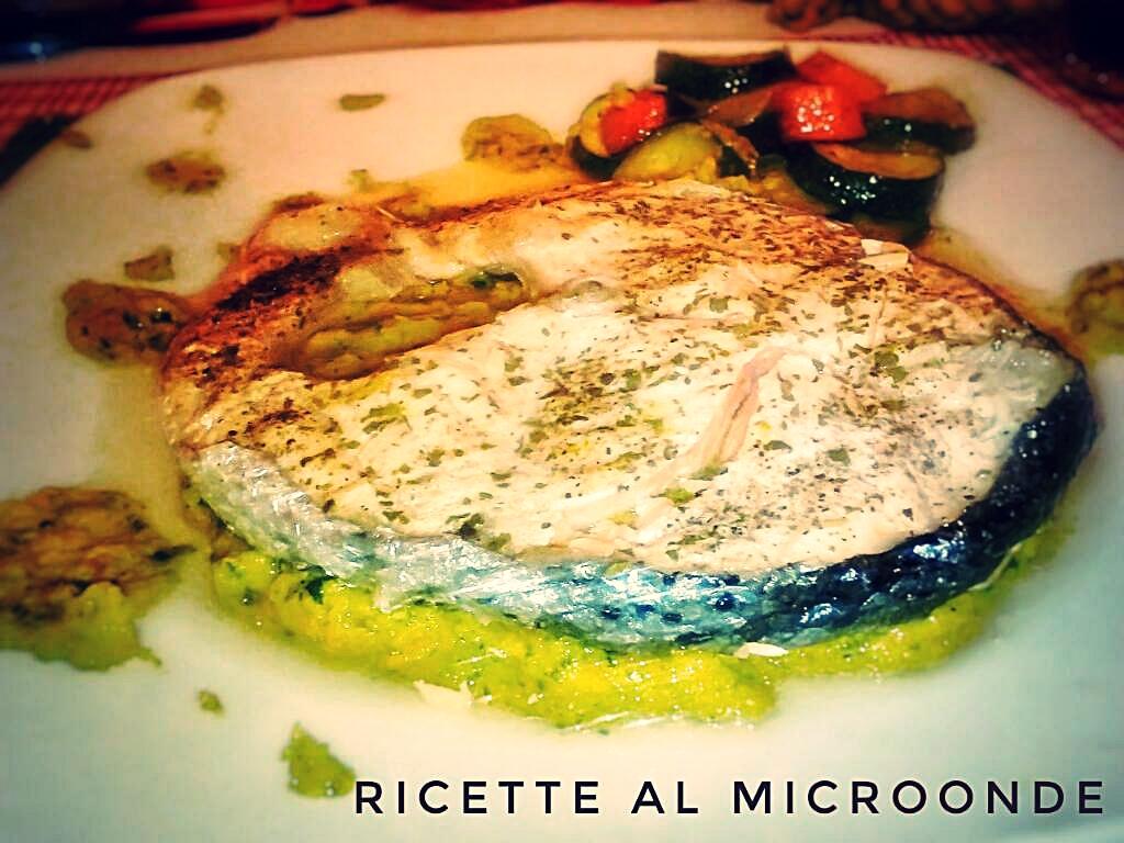 Ricerca ricette con tranci di pesce spada al microonde for Microonde ricette