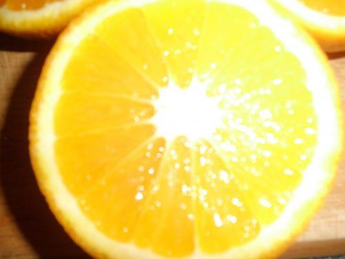 Torta all'arancia – senza burro e latte