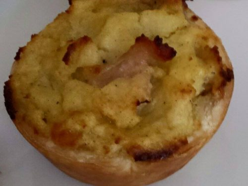 Sformatini di patate, pancetta e provola