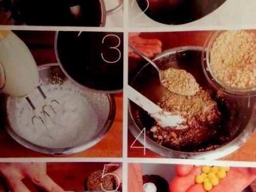 Ovetti di cioccolato con mousse al caffé – Ricetta fotografica